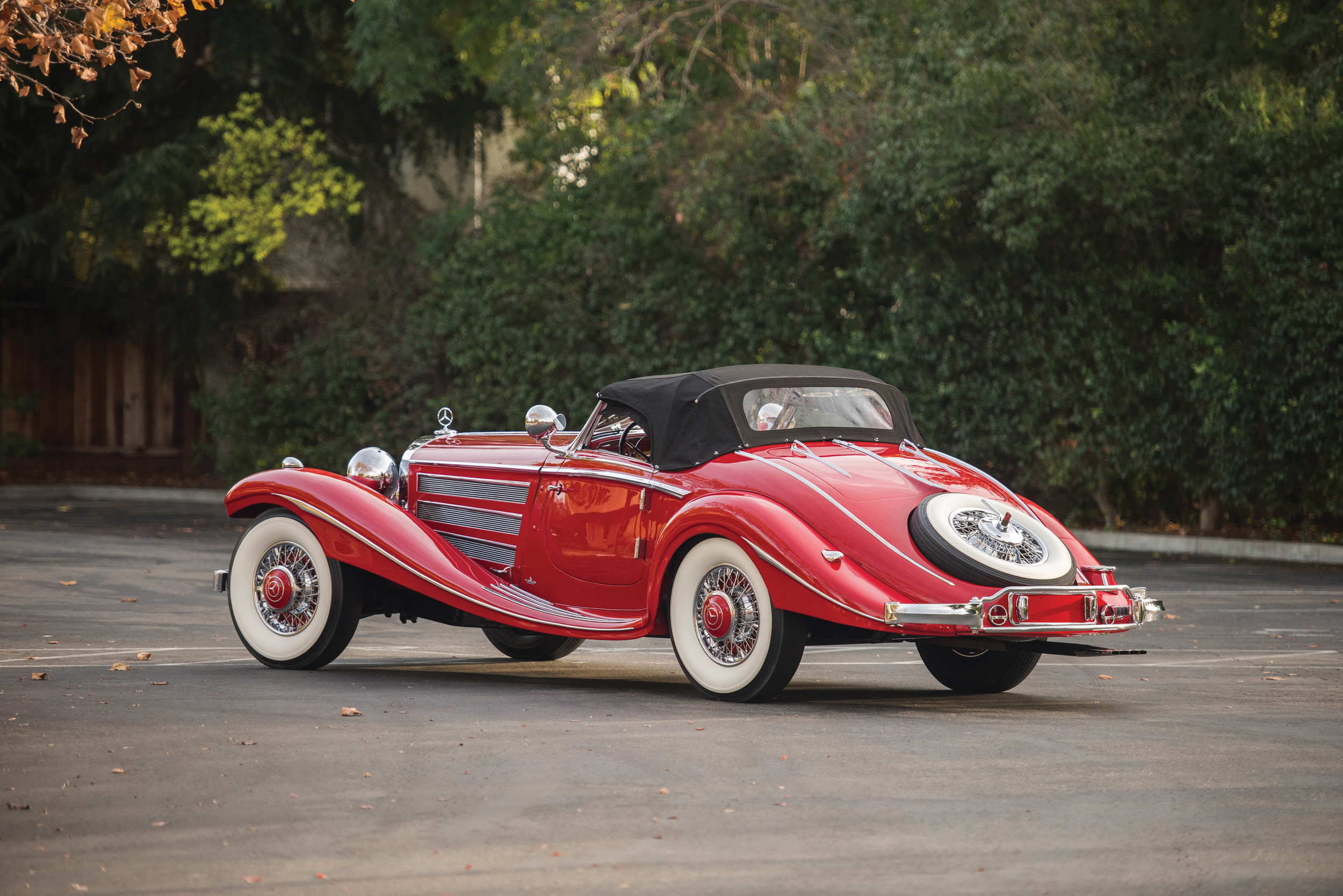 Mercedes benz 540k special roadster produced in 1937 is for Most expensive mercedes benz