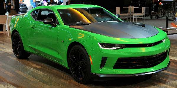 2017 Chevrolet Camaro 1le Had Its Debut At The Chicago Motor Show