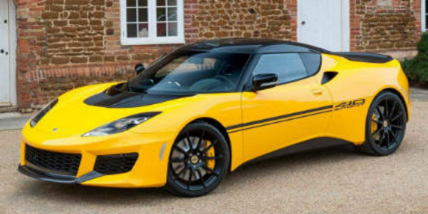 2017 Lotus Evora Sport 410 cover