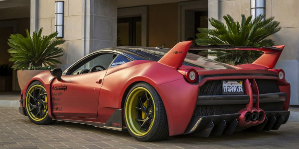 Ferrari 458 With Wide Body Kit By Misha Designs Muscle Cars Zone