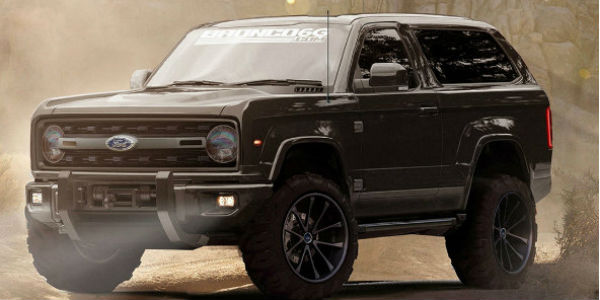 Is This How The New Ford Bronco Will Look Like Muscle