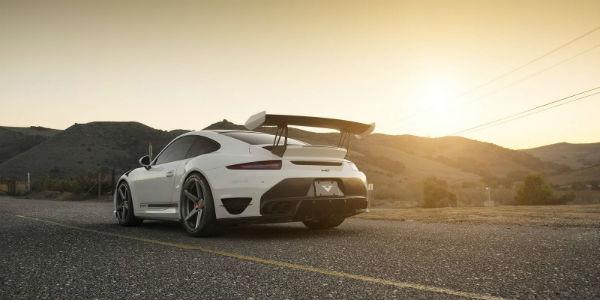 Porsche 911 Turbo VRT Edition by Vorsteiner 5