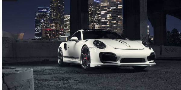 Porsche 911 Turbo VRT Edition by Vorsteiner cover