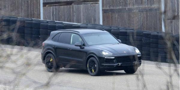 Porsche Cayenne Spy Shots 1