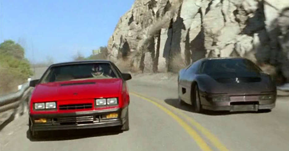 The Wraith Car >> The Dodge M4s Turbo Interceptor From The Wraith Movie