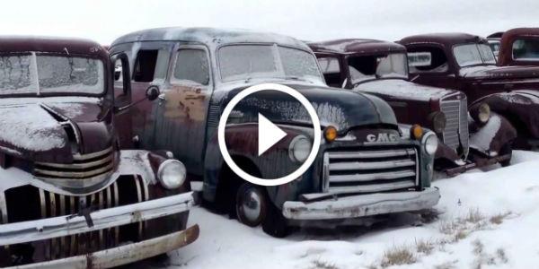 classic cars and trucks car graveyard