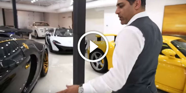 The ultimate man cave garage must see this amazing car for Garage sees automobile