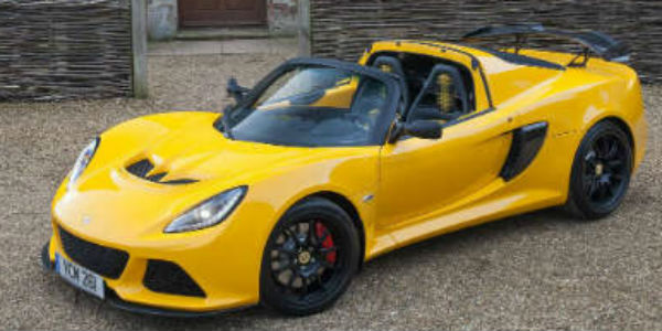 2016 Lotus Exige Sport 350 Roadster cover