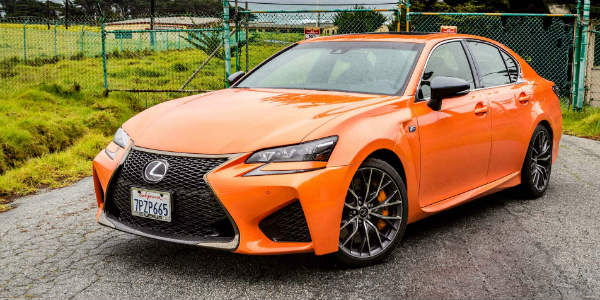 Grab A Glance At The New Lexus GS F Type 3