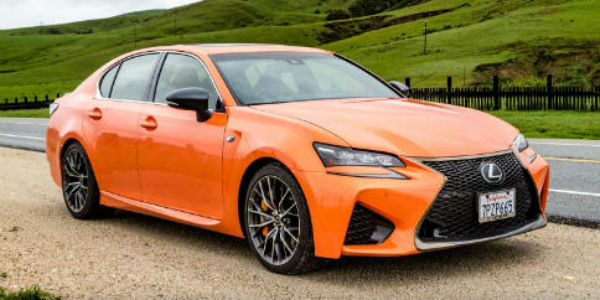 Grab A Glance At The New Lexus GS F Type cover