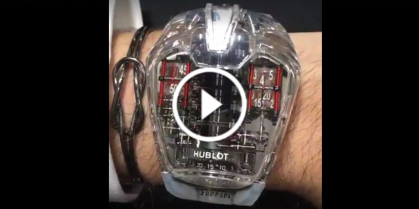 Rc Race Cars >> MUST See The Incredible Hublot LaFerrari Watch! This Wrist ...
