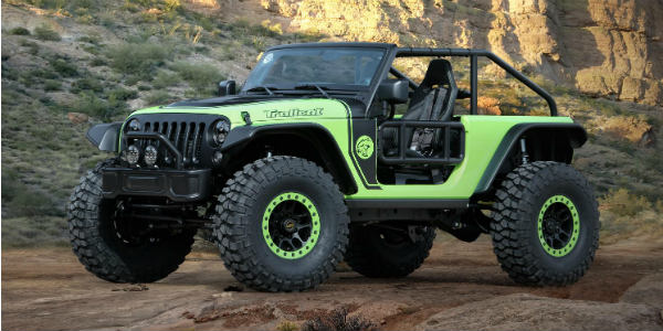 Jeep Trailcat With A 707 Horsepower Dodge Hellcat Engine 1
