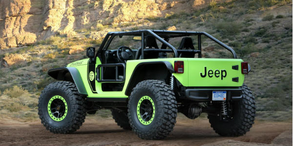 Jeep Trailcat With A 707 Horsepower Dodge Hellcat Engine 3