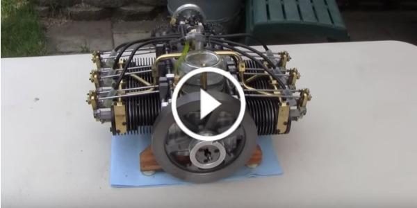 Mini Engine 6 Cylinder Boxer 1 play