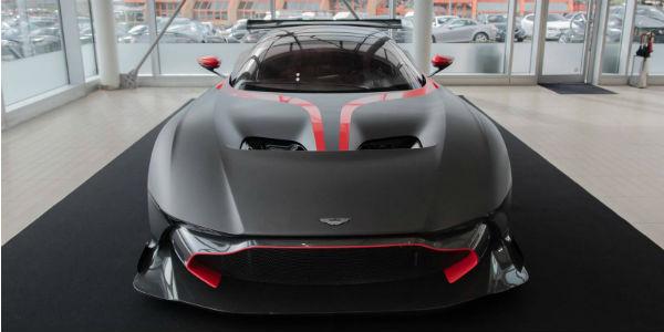 New Aston Martin Vulcan In A Stunning Matte Black Composition