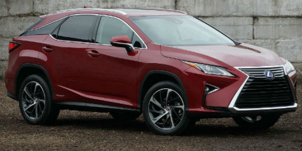 New Lexus RX Is Getting A Three Row Version cover