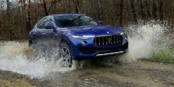 New Maserati Levante SUV cover