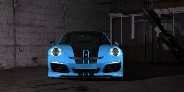 New Porsche 911 Carrera And New Porsche 911 Turbo By Techart 7