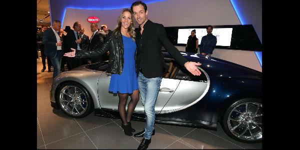 Silver Bugatti Chiron Exposed Munich Boutique Sema