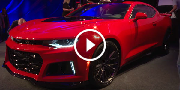 You Must See The New Chevrolet Camaro Zl1 It Will Take Your Breath