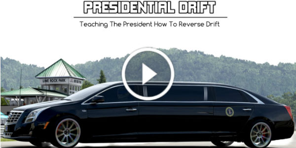The Presidential Cadillac Can Drift Like This 1 play