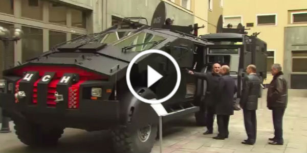 zil punisher the brand new russian armored truck passed the first inspection muscle cars zone. Black Bedroom Furniture Sets. Home Design Ideas