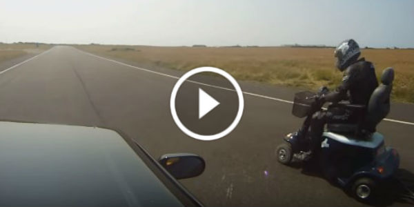 Watch The World S Fastest Mobility Scooter Race A Nissan