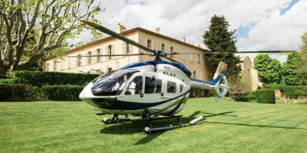 Airbus h145 helicopters in the style of mercedes benz for Mercedes benz helicopter price
