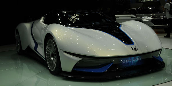 Baic Arcfox The Ultimate Electric Supercar Revealed At Beijing