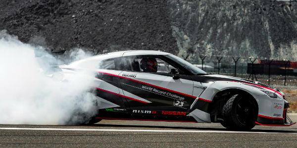New Nissan Drift Guinness Record 1