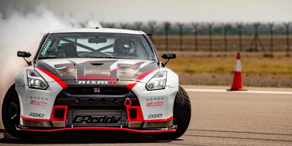 New Nissan Drift Guinness Record 4