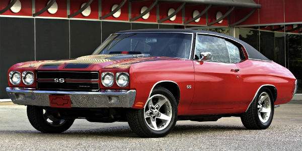 chevrolet chevelle best muscle cars of all time