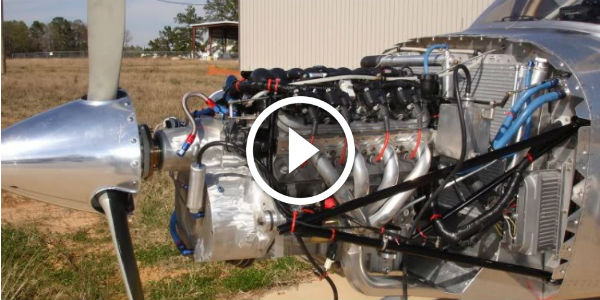 Rv 10 Plane Running Perfectly With A Corvette Ls1 Engine