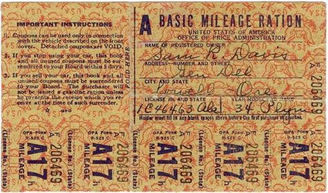 on this day gas rationing ww2 1