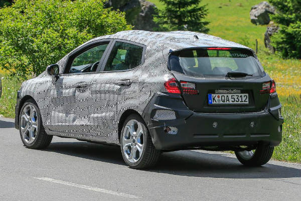 Ford Fiesta Spy Shots 6