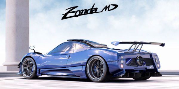 Limited Edition Pagani Zonda 5