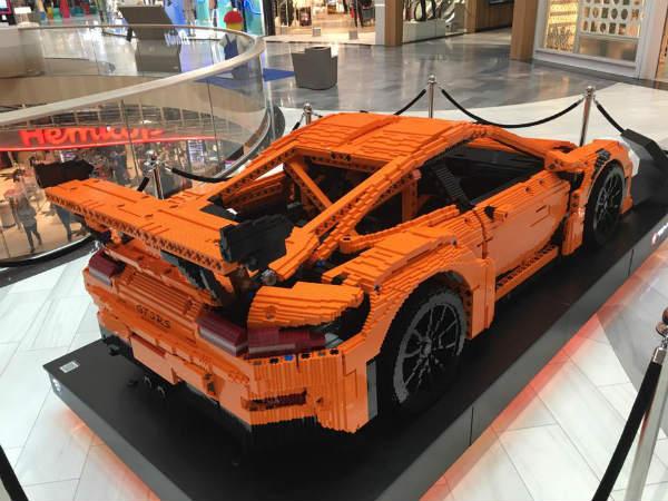 Epic Porsche Lego Car Porsche Rs Made Out Of Lego Found