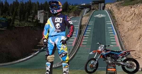 Robbie Maddison dirt bike Drop In 2