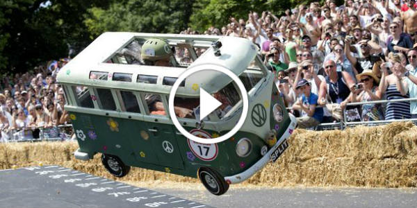 VW Campervan Soapbox Race Car 3 TN