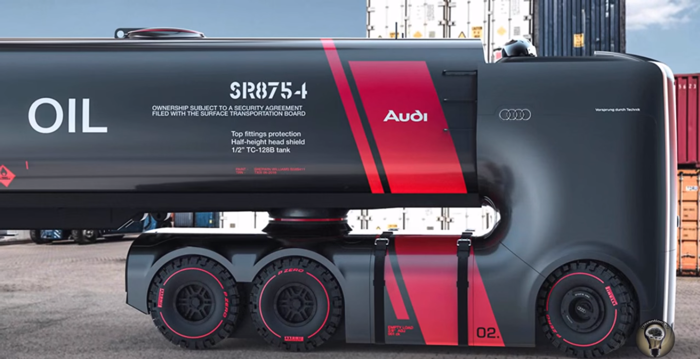 AUDI Electric SelfDriving TRUCK Is This The Future Muscle - Audi future cars