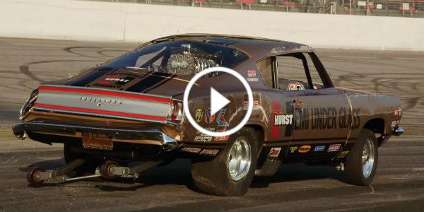 Jay Leno Crash Bob Riggle Plymouth Hemi Barracuda Hp