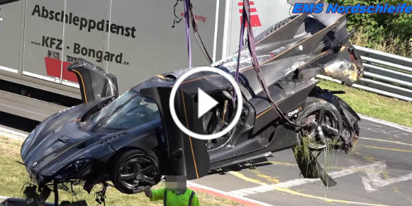 Koenigsegg Crash Nurburgring! Ring Most Expensive Crash Koenigsegg One 1 42