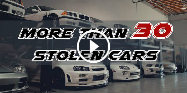 PAUL WALKER Car Collection stolen