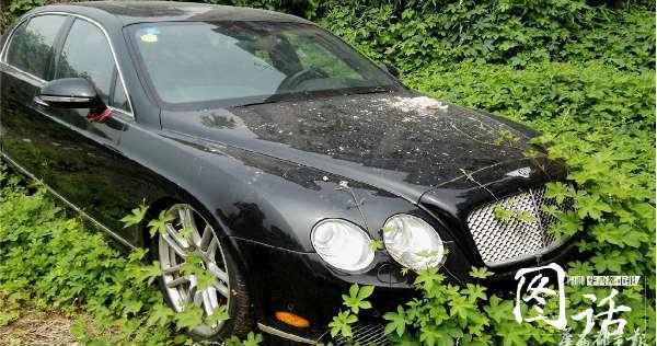 200 Abandoned Luxury Cars graveyard Chengdu China 9