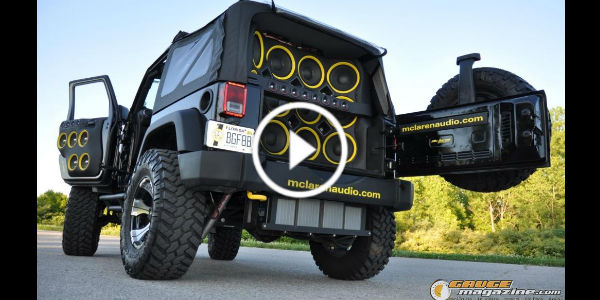 20,000 Watts Powerful Sound System McLaren Jeep 2