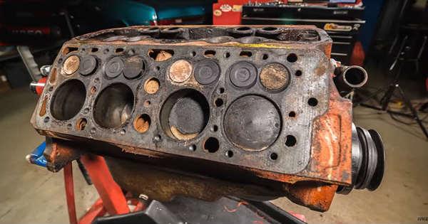 Ford Flathead V8 Engine Rebuild Time Lapse Video