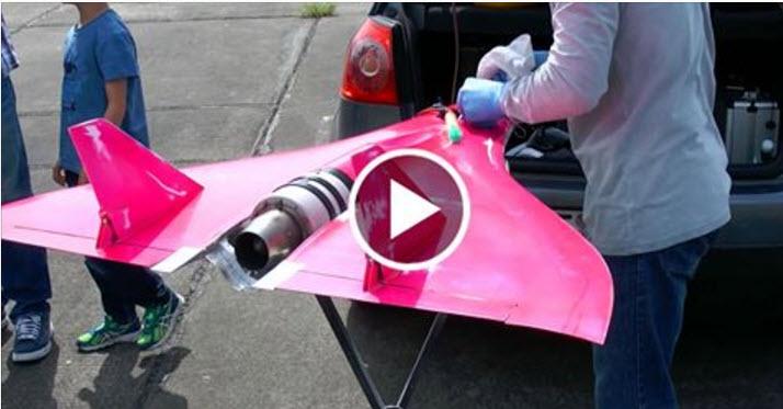 Guinness Record 462MPH World Quickest Turbine RC Model
