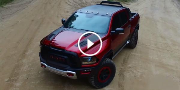 Hellcat Truck Ram Rebel TRX 575 HP 1