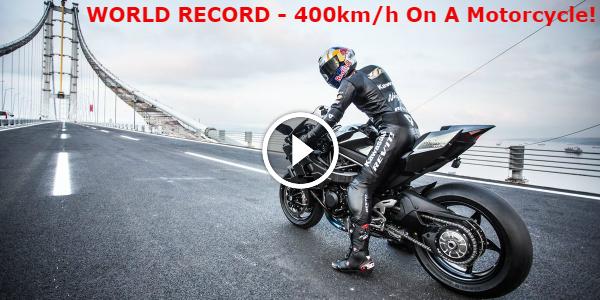 Kawasaki H2R Kenan Sofuoğlu Turkey TOP SPEED RECORD 400km/h