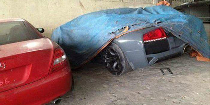 144 Abandoned Exotic Cars